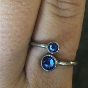Alex and Ani Sapphire Ring